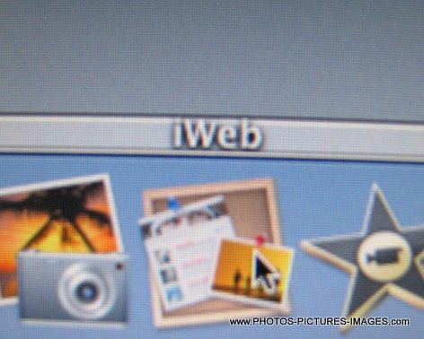 IWeb Mac OS X Icons