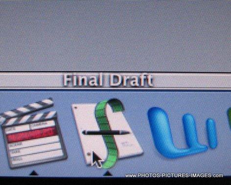 Final Draft Mac OS X Icons