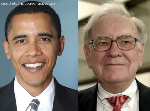 Barack Obama Related To Warren Buffett