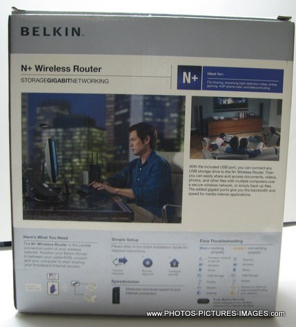 Belkin  F5D8235-4  Wireless Router