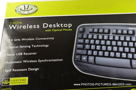 Gear Head 2.4GHz Wireless Desktop With Optical Mouse KB5150W