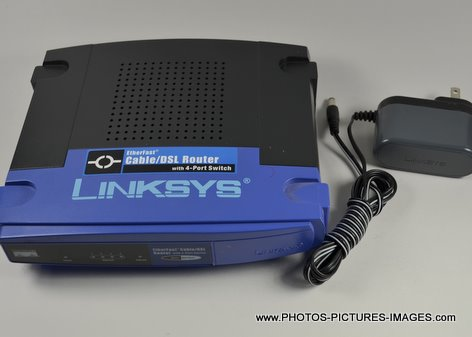 Linsys Cable/DSL Router BEFSR14 with 4-port switch