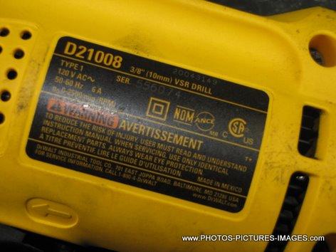 Dewalt D21008 Corded Drill