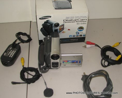 Samsung Digital Video Camera SC-D363