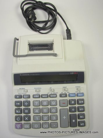 Canon P100-DH II Desktop Printing Calculator
