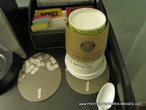 Starbucks Coffee Cup, Westin Hotel Coffee