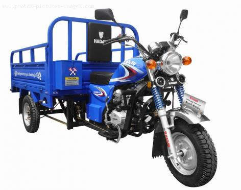 Cargo Motorcycle - Three wheel motorcycle tricycle