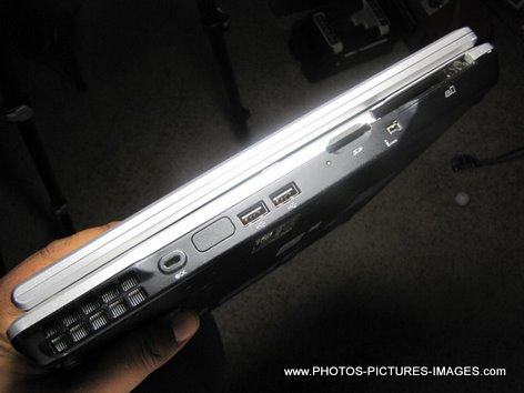 Toshiba Satellite Tablet Pc Laptop Side View